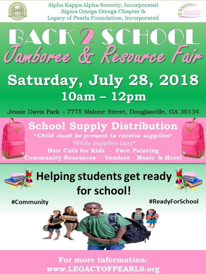 Back 2 School Jamboree - resources